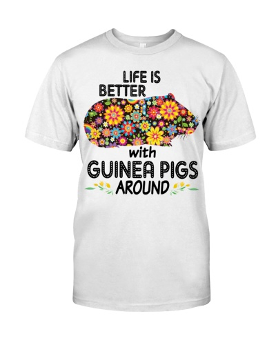 Guinea pigs life is better