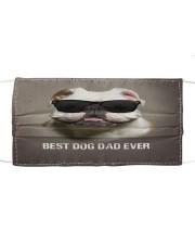 Bulldog Best Dog Dad Ever Cloth face mask front