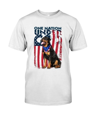 Rottweiler one nation under god