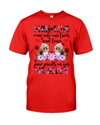 Shih tzu come prints on our heart
