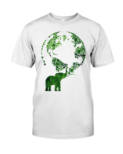 Elephant Love Green Earth