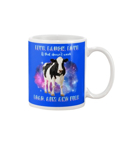 Cow live laugh and love