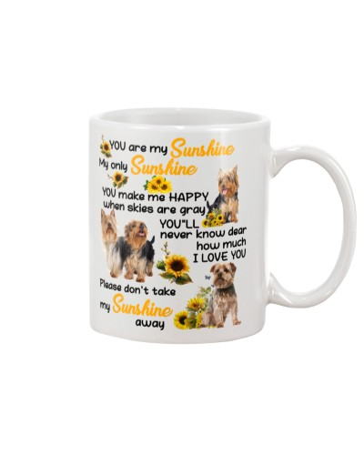 Not take my sunshine Australian silky terrier