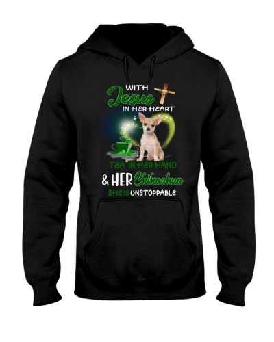 With Jesus Tea and Chihuahua she is unstoppable