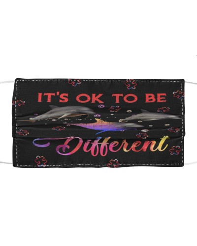 SHN It's ok to be different Dolphin