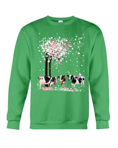 Mt Spring Tree Cow Shirt