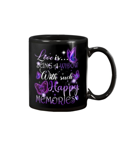 Love is being a widow mug