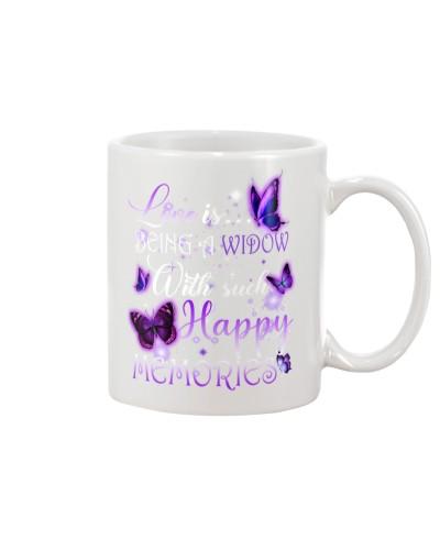 Love is being a widow mug