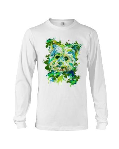 Lucky Face Art Yorkshire Terrier Shirt