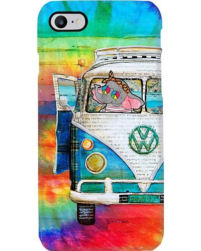 Colorful Peace Car Elephant