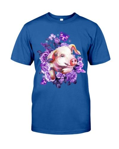 Pig purple flowers