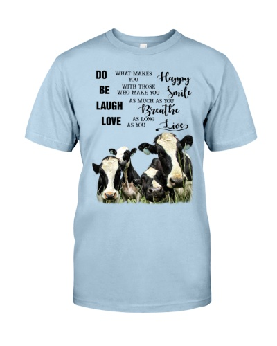 SHN 3 Do what makes you happy Cow