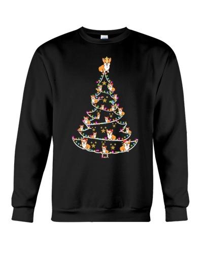 Corgi funny christmas tree