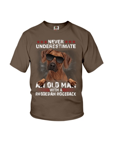 Rhodesian ridgeback never underestimate an old man
