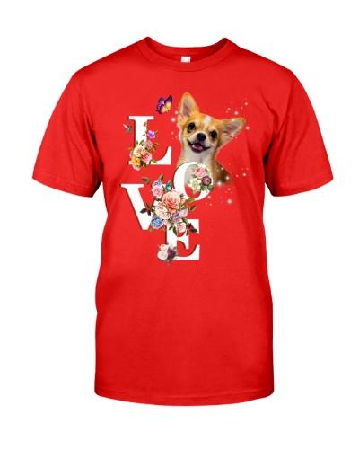 Chihuahua flower love
