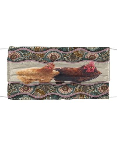 Chicken Boho Pattern