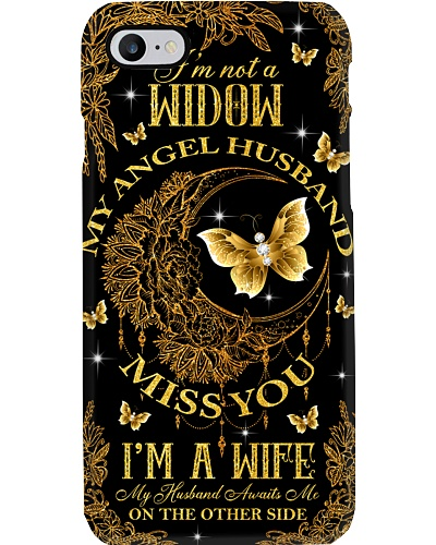 My angel husband miss you phone case
