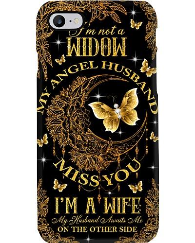 My angel husband miss you phone case