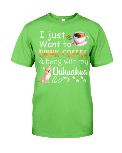 I want chihuahua and drink coffee