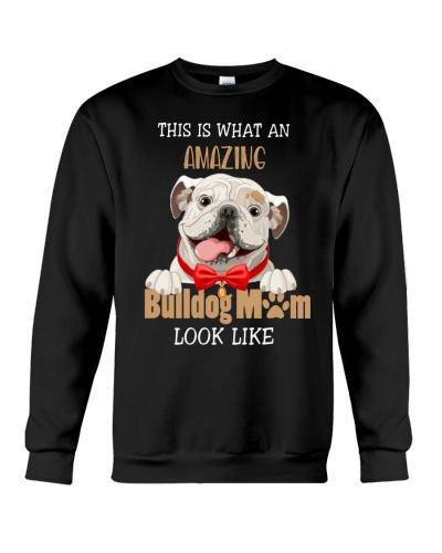 Amazing bulldog mom shirt