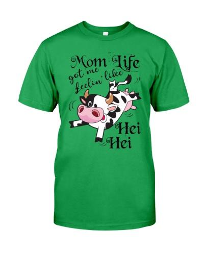 Cow mom like got me feelin like shirt