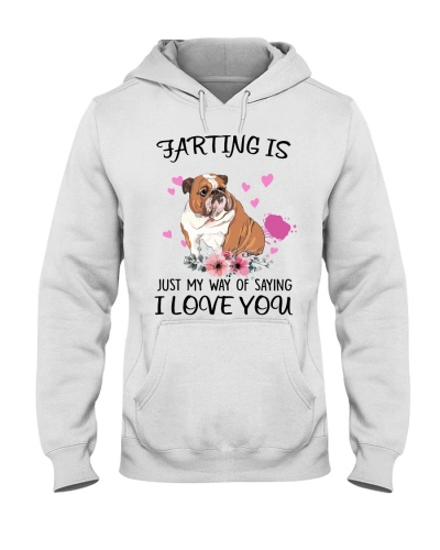 Bulldog saying i love you