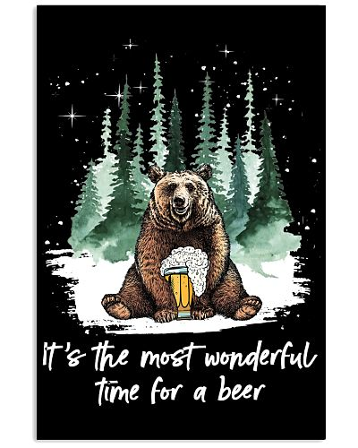 bear wonderful time for a beer