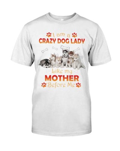 Crazy Husky Lady
