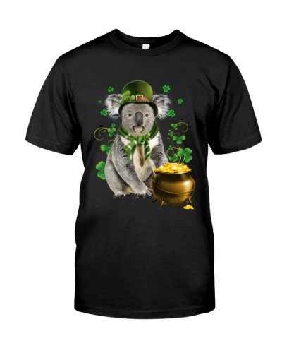Koala patrick day lucky shirt
