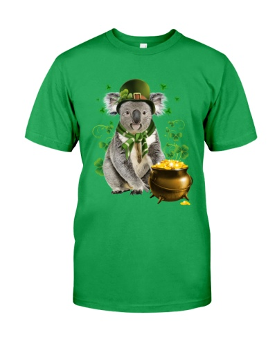 Koala patrick day lucky shirt