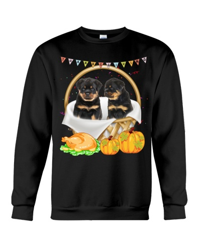 Rottweiler and thanks giving