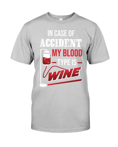 Wine my blood type