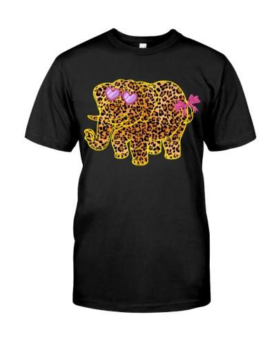 Elephant cute girl shirt