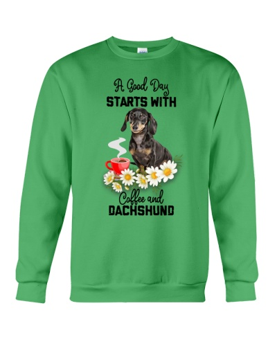 TTN 3 A Good Day Starts With Coffee And Dachshund