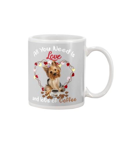 O you need is love and lots of coffee yokshire