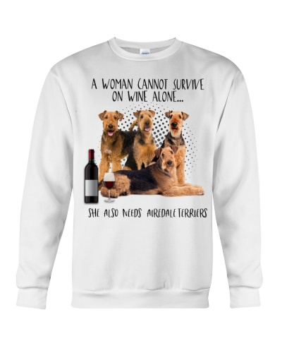 Airedale terriers wine she needs
