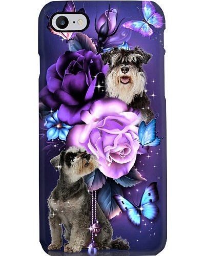 Schnauzer magical phone case