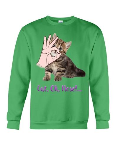Cat Ok Nose Shirt