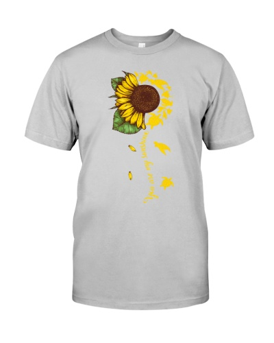 Turtle sunshine black shirt