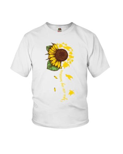 Turtle sunshine black shirt