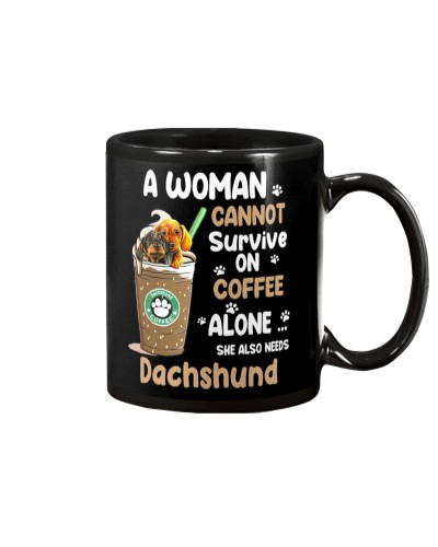 Dachshund And Coffee