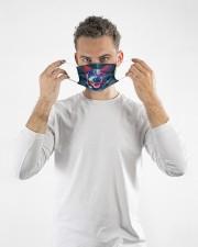 TH 32 Heeler Mandala Colorful Cloth face mask aos-face-mask-lifestyle-08