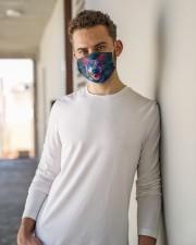 TH 32 Heeler Mandala Colorful Cloth face mask aos-face-mask-lifestyle-10
