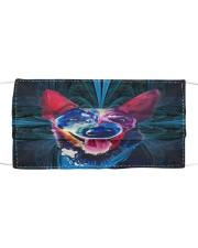 TH 32 Heeler Mandala Colorful Cloth face mask front