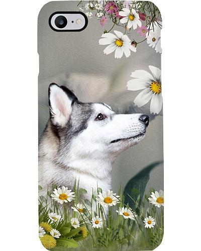 Siberian Husky flower