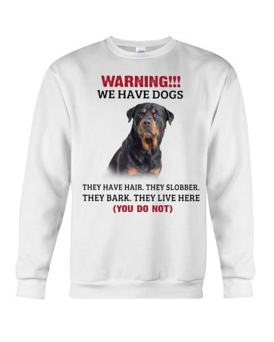 Rottweiler warning