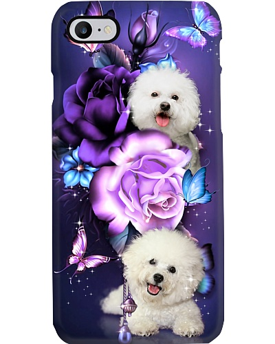 Bichon Frise magical phone case