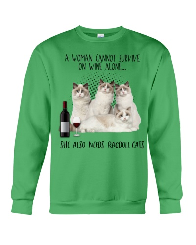Ragdoll cats wine she needs