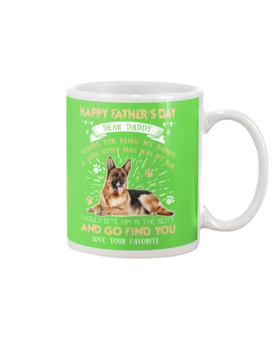 German Shepherd Dear Daddy