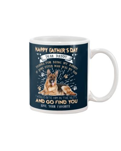 German Shepherd Dear Daddy